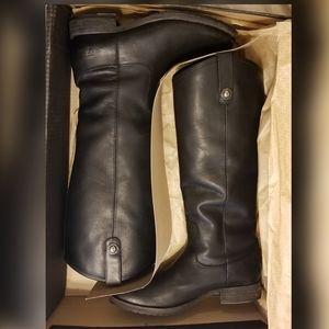 Frye Melissa Button Lug Tall Boot